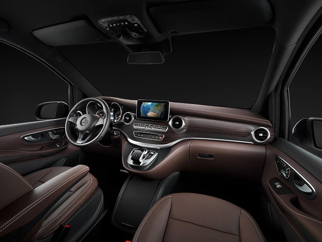 mercedes-benz v-class interiors