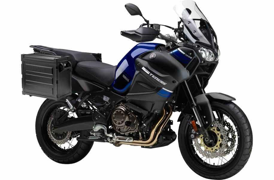 yamaha super tenere adventure motorcycle