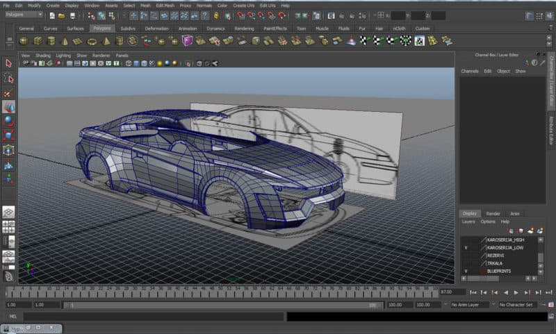 car design software car designing software 3d car 3d design online 3) Blender: If you need a cost-effective solution, Blender should be your  pick. Itu0027s an open source software that is perfect for automotive designing.