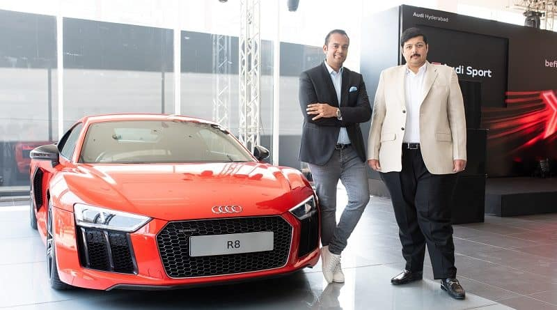 Audi India Opens its new Showroom in Hyderabad