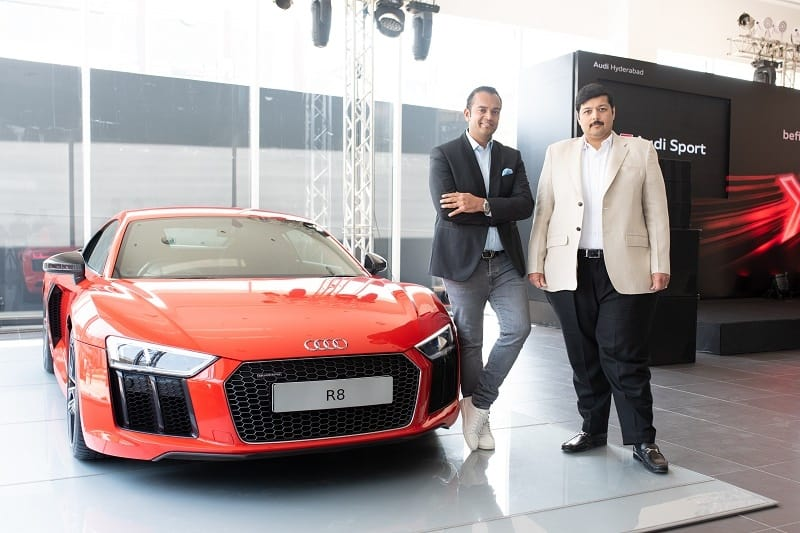 audi india hyderabad showroom