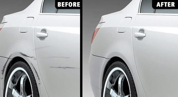 8 Ways To Fix Dents And Scratches On Your Car Paint Do It Yourself Easily