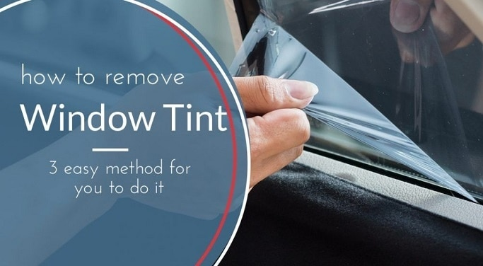 How to Remove Tint from Car Windows?