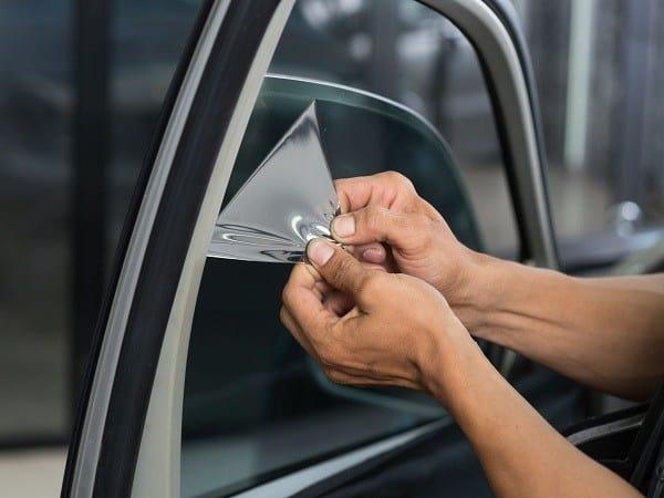 diy car window tint removal