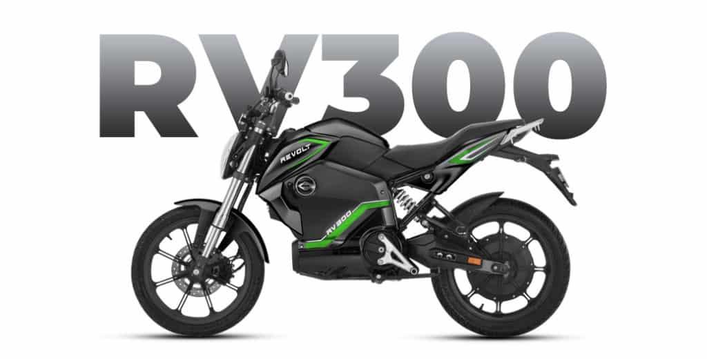 revolt rv300 electric motorcycle