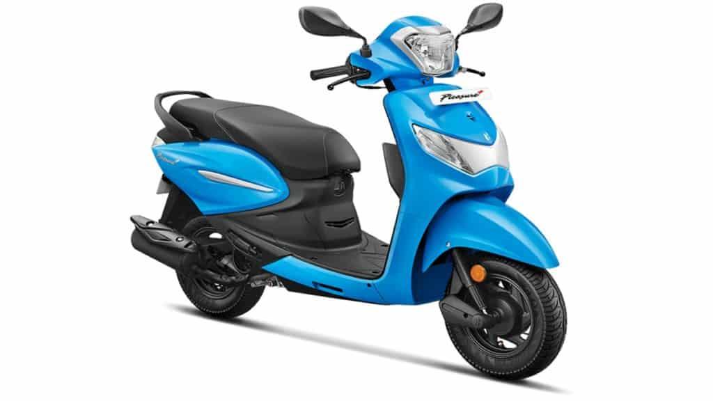 hero pleasure women scooter