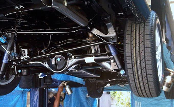 car underbody anti-rust coating